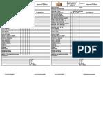 SSOMA-09 Check list diario para vehículos -equipos