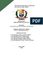 TAG DE INFORME POLICIAL
