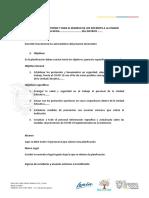 GUIA PARA ELABORACIÓN DE PLANIFICACION DE RETORNO