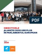 Oferta Electorala Alianta 2020 USR PLUS