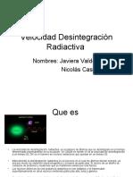 Velocidad Desintegración Radiactiva.ppt  1111