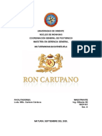 ENSAYO RON CARÚPANO