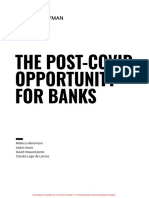 The Post-COVID Opportunity For Banks