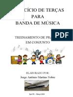 EXERCÍCIO DE TERÇAS - Jorge Nobre - Flauta