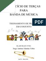 EXERCÍCIO DE TERÇAS - Jorge Nobre - Trombone