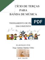 EXERCÍCIO DE TERÇAS - Jorge Nobre - Trompete