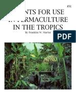 3 Plants #31 for Prm Tropics
