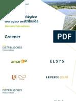 Relatório energia solar fotovoltaica GRENEER - 1 semestre 2020