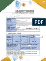 Guía de Actividades y Rubrica de Evaluación Fase 5 - Propuesta Inteligencia y Creatividad