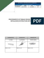 SIG-SG-PR-13 Procedimiento de trabajo seguro en EMPALME DE LA ACOMETIDA TE-COM CON EL SUBTABLERO Z DE LA SALA DE TABLERO GENERAL EN EL SOTANO 1