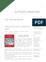 Adrienne Bolland Archives - Passion pour l'aviation