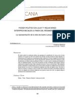 Poder político en Jujuy y relaciones interprovinciales a fines del régimen rosista