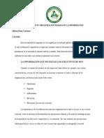 UNIDAD IV ORGANIZACION BASADA EN LA INFORMACION