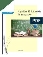 Opinión La Educación en el Futuro
