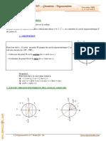 Cours Math - Chap 3 Géométrie Trigonométrie - 3ème Math (2009-2010) Mr Abdelbasset Laataoui www.espacemaths.com