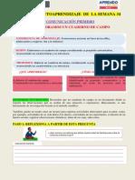 SEMANA 34  FICHA DE APRENDIZAJE   TEMA ELABORAMOS UN CUADERNO DE CAMPO (1).pdf