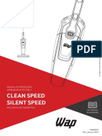 Manual de Instrucoes - Aspirador de Po - WAP - Silent Speed