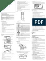 Manual de Usuario - Telefone Fixo Com Fio Intelbras - TC 60 ID