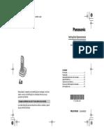 Manual de Usuario - Telefone Fixo Sem Fio Panasonic - KX-TG1381LB