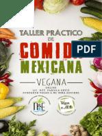 Recetas Cocina Mexicana Vegana