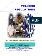 TR - Auto Servicing NC II