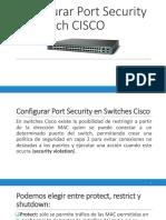 Configurar Port Security en Switches Cisco