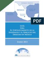 aba roli -guia para el fortalecimiento de la enseñanza y el ejercicio del derecho en mexico.pdf