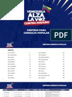 Centros Consulta Popular del 12 de diciembre 2020