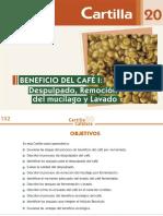 Beneficio del café I -despulpado, remoción del mucílago y lavado