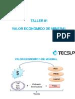 Taller 1 Calculo de valor de mineral.pdf