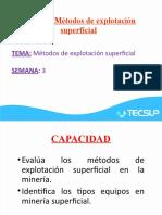 PDF - Sesion 3 Descripción de los métodos de explotación superficiales.pptx
