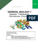 Module 6.Biomolecules_Enzymes