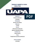 PASANTIA PROFESIONAL 5A, TRABAJO FINAL