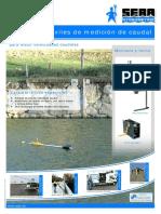 Medición de caudales con molinete SEBA.pdf