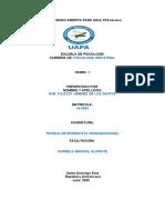 TAREA 3 TECNICA DE ENTREVISTA ORGANIZACIONAL