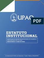 Estatuto UPAO_2020