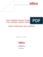 Call Center Solutions for Cisco UCCE UCCX by Telisca