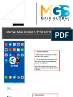 Manual MGS Service APP