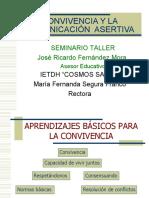 TALLER CONVIVENCIA COMUNICACION ASERTIVA (24-07-10).ppt