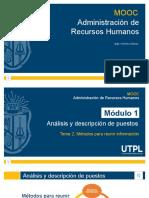 Tema 2 Métodos para recopilar información de los cargos (presentación de PowerPoint).pptx