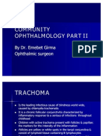 COMMUNITY OPHTHALMOLOGY PART II