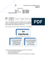 Sesion 13 Material de Trabajo Hipotesis