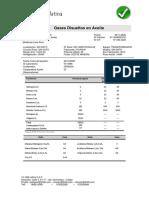 Análisis de Cromatografico (Gases Disueltos en Aceite)