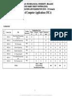 VTU MCA Scheme and Syllabus WEF 2018-19 (1)