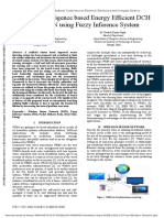 Artificial Intelligence based Energy Efficient DCH based WSN using Fuzzy Inference System