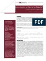 Es posible la resolución unilateral en España.pdf
