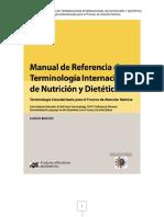 TERMINOLOGÍA INTERNACIONAL DE NUTRICIÓN Y DIETÉTICA