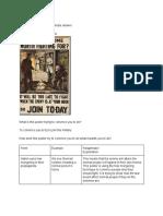 pink wachirapaet - lesson 9  volunteer propaganda worksheet