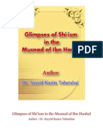 Glimpses of Shi'Ism in the Musnad of Ibn Hanbal