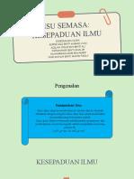 ISU SEMASA (KESEPADUAN ILMU).pptx